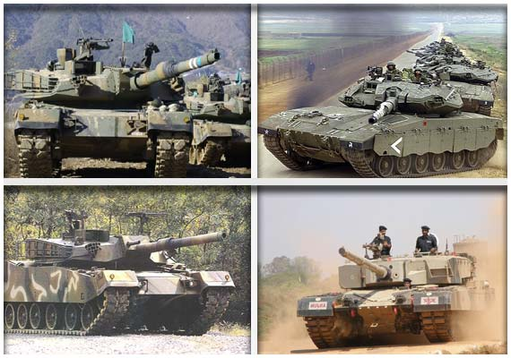 The world's ten best main battle tanks