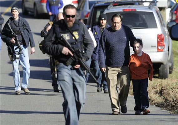 26 including 20 kids killed in US shootout, youth first kills mom, takes her car to school for massacre