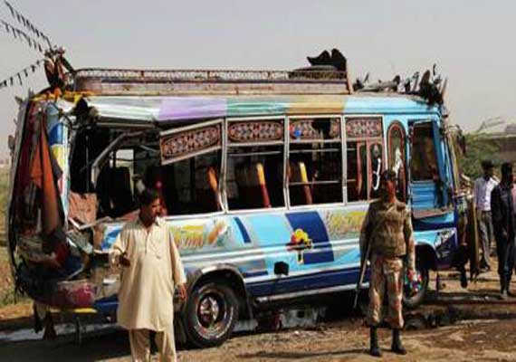 25 killed in Pak bus accident