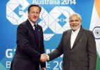 David Cameron confirms PM Modi's visit to Britain