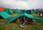 Nepal sleeps out in open as aftershocks spread fear
