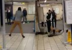 London underground stabbing treated as 'terrorist incident'