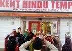 Another Hindu Temple vandalised in the United States