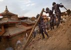 #NepalDevastated: Survivors sleep in open for second day, death toll crosses 2500-mark