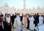 PM Modi visits Sheikh Zayed Grand mosque, meets Indian workers