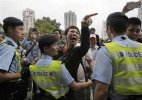 Hong Kong rally against Chinese shoppers turns chaotic