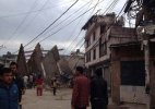 #NepalDevastated: Exclusive pictures of the earthquake in Nepal