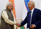 PM Modi holds talks with Uzbek Prez; terror, Afghanistan discussed