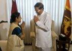 Sushma briefs Lankan president on bilateral meeting