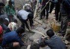 Survivors recount nightmare of shaking buildings, devastation
