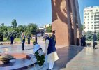 PM Modi lays wreath at Victory Monument in Kyrgyzstan capital Bishkek