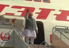 PM Narendra Modi concludes successful Japan visit, leaves for home