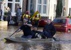 UK leader to visit flood-hit northern England, Scotland