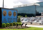 Shooting outside US spy agency, 1 dead