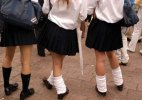 UK school bans skirts to prevent male teachers getting distracted