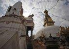 Nepal quake damages world's oldest Buddhist shrine