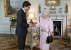 Queen Elizabeth thanks Canadian PM for making her feel old