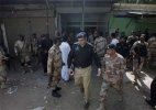 Blasts, firing heard near Karachi university