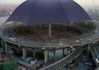 China breaks world record for largest umbrella