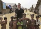 Actor Matt Dillon puts rare celebrity spotlight on Rohingya Muslims