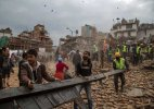 #NepalDevastated: Earthquake leaves over 3300 dead, rain hinders rescue efforts