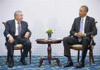 Barack Obama-Raul Castro meeting overshadows anti-US line at summit
