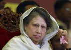 Khaleda Zia offers prayers at son's grave for the 1st time