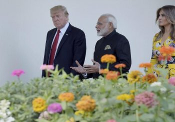 In maiden meet, PM Modi, Trump call on Pakistan to stop terror emanating from its soil
