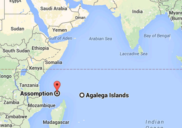 Modi fetches two islands for development agalega and assomption indian ocean to become indias ocean modi fetches two islands for development gumiabroncs Gallery
