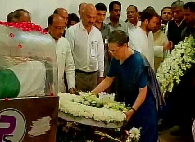 Sonia Gandhi tribute APJ Kalam