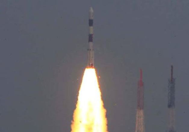 In Pics India Launches Astrosat With 6 Foreign Crafts
