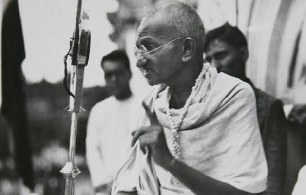 Speech written by mahatma gandhi
