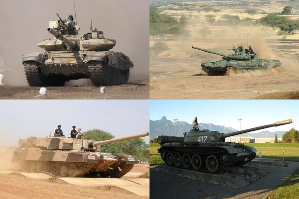 A Look at Indian Army's Main Battle Tanks