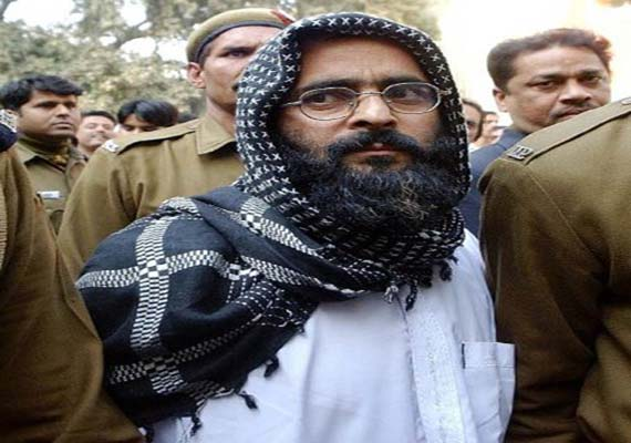 Afzal Guru's belongings to be returned to his family