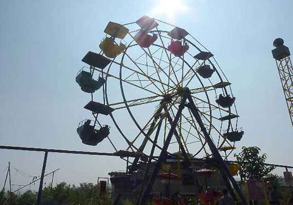 Air hostess falls off giant wheel, dies