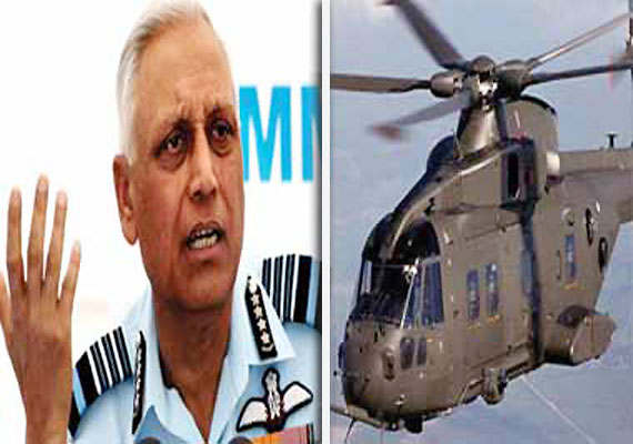 CBI names former air chief Tyagi, 10 others in chopper deal case
