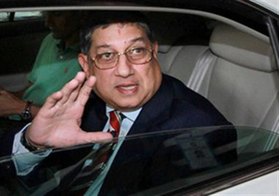 CBI seizes 11 imported luxury vehicles of BCCI chief N Srinivasan