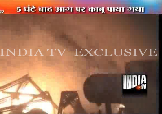Chemical factory in Noida gutted in fire