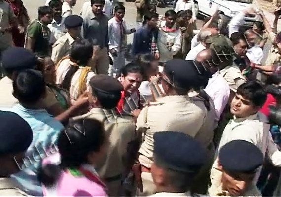 Congress Rally Baton Charged In Gujarat; 200 Detained