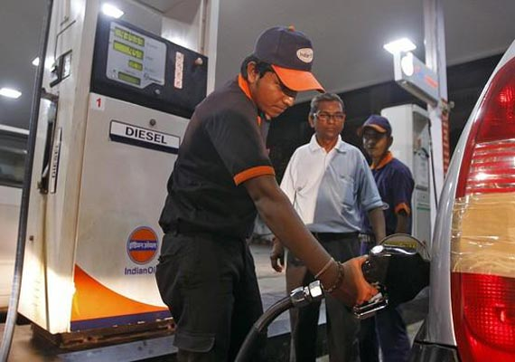 Diesel price hiked by 45 paise per litre