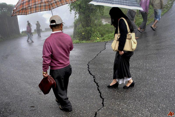 Earthquake of moderate intensity rocks north-east