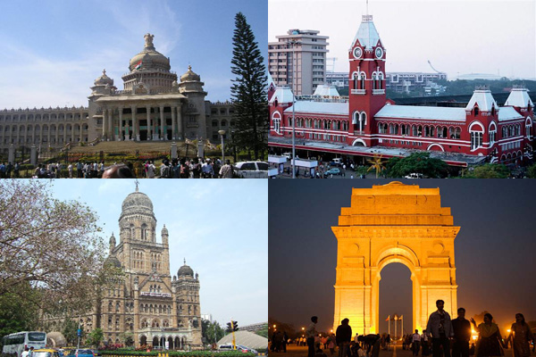 Five most expensive cities to live in India