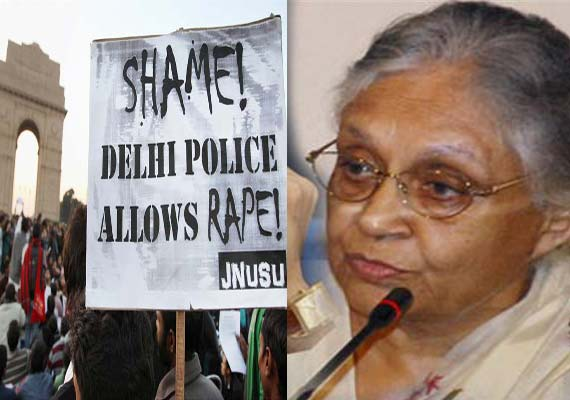 Gangrape victim still critical, as Delhi CM battles police