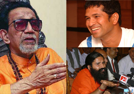 Give Bharat Ratna to Sachin, demand Ramdev, Bal Thackeray