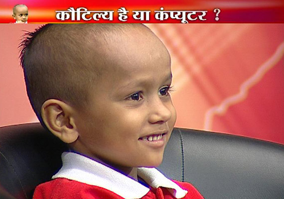 Haryana's child prodigy Kautilya appears on India TV, replies to tough GK questions with ease