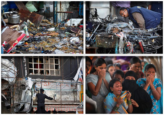 Hyderabad blasts: Centre rushes forces to maintain peace, terror alert was ignored