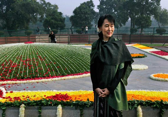I feel partly a citizen of India, says Suu Kyi