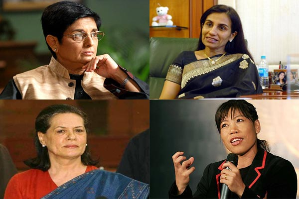 Successful Womens of India India's 7 Most Powerful Women