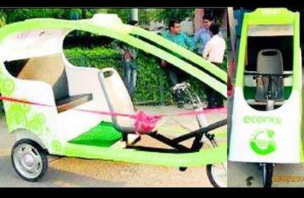 4,000 E-Rickshaws To Flood Delhi Before Games
