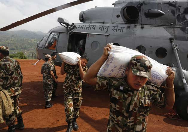 Nepal quake: Largest ever disaster relief operation by ...